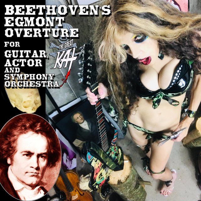 Beethoven's Egmont Overture for Guitar, Actor and Symphony Orchestra