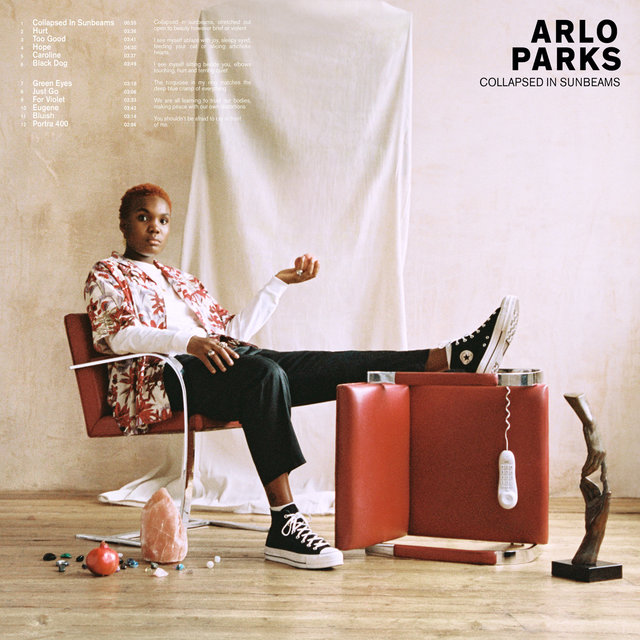 Cover art for album Collapsed In Sunbeams by Arlo Parks