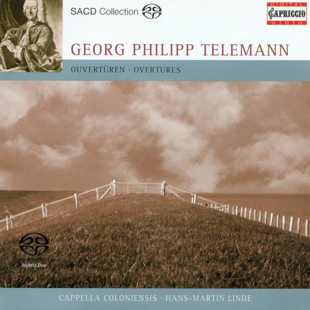 Telemann, G.P.: Overture (Suites) in C Major / E Minor / F Major
