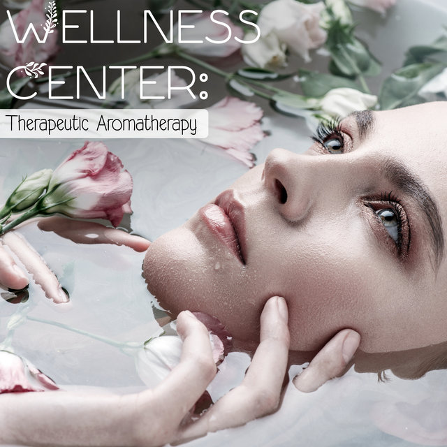 Wellness Center: Therapeutic Aromatherapy - Peaceful Spa Collection, Smooth Skin, Bath with Bubbles, Scented Candles, Mood Light, Beauty Concept, Peeling Sugar, Rest Time