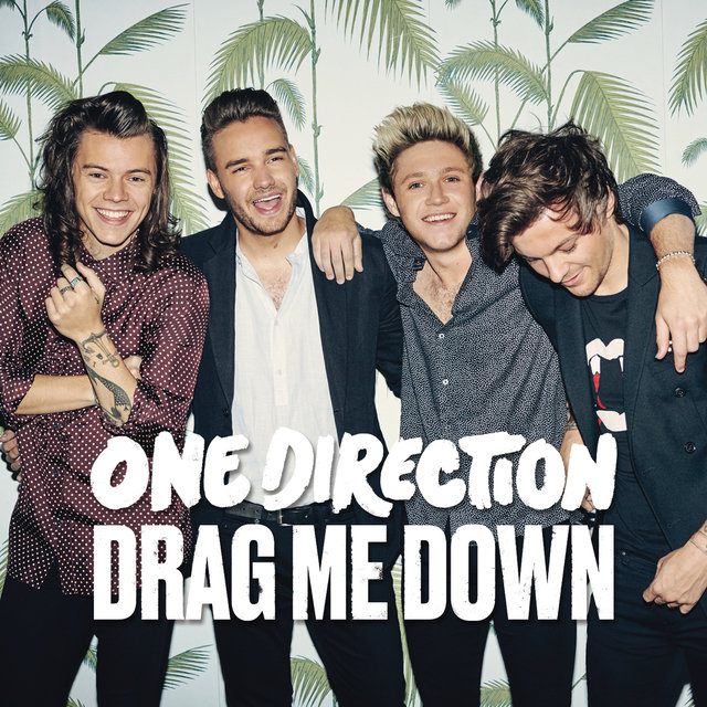 Cover art for album Drag Me Down by One Direction